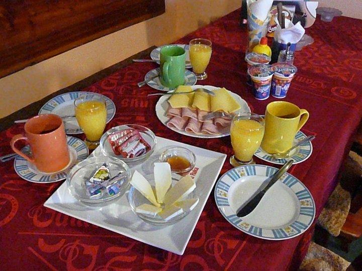 Penzion U raka snídaně 2