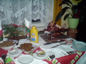 Večeře – šunka