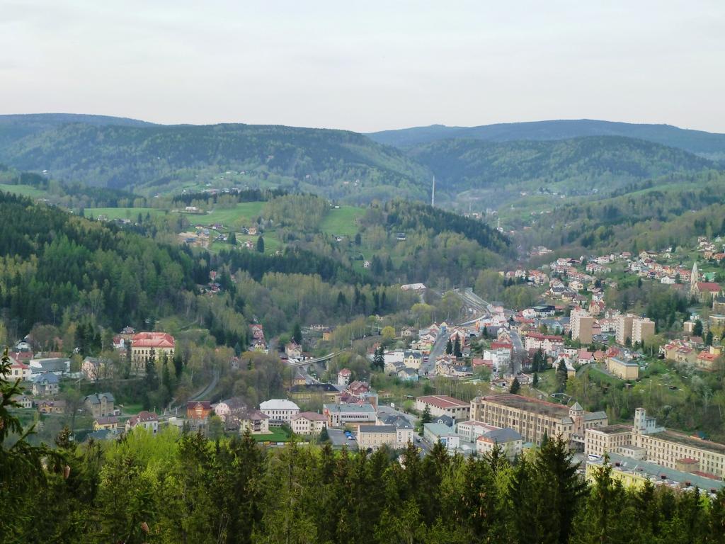 Panorama Jizerských hor